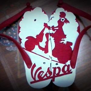 Waini, buat kamu penggemar Vespa