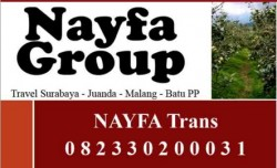 Travel Malang Surabaya Juanda by NAYFA Group
