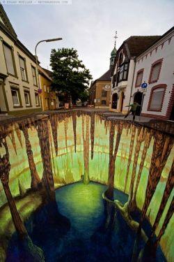 9 Photos Street art yg akan membuat mu terpukau