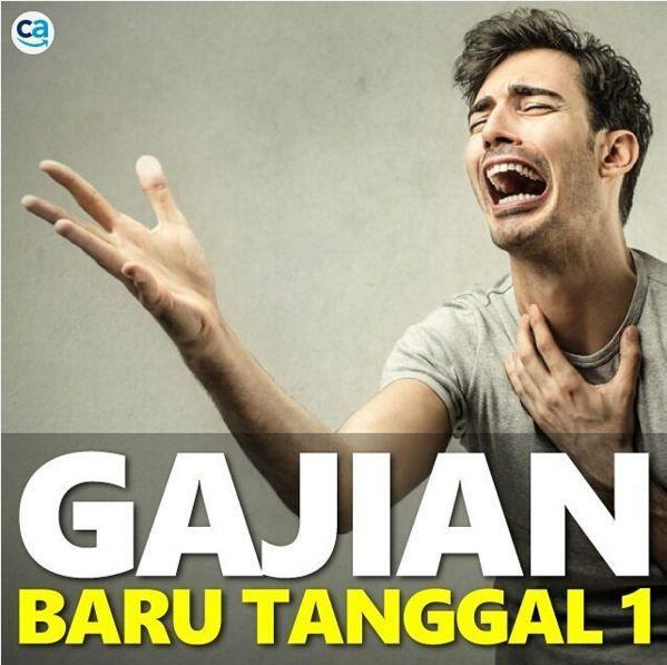 Oh My Good, Gajian Sudah Habis, gini ekspresinya :v