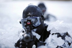 Pasukan Kopassus TNI Kalahkan Tentara Khusus Korea Selatan Di Medan Salju