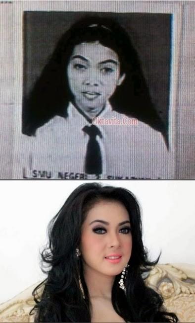 Transformasi 11 Artis Indonesia Dulu Jelek Jadi Cantik