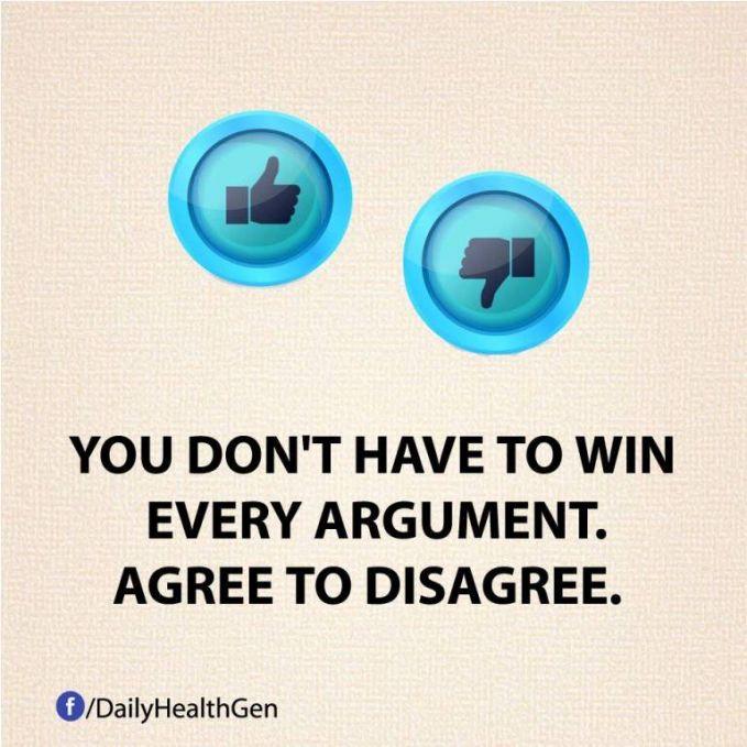 #3 Kamu tidak perlu menang dalam setiap perdebatan. Kita kadang hanya perlu mengalah bukan untuk kalah.