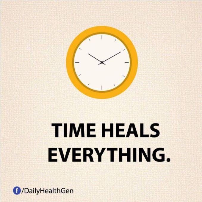 #7 Waktu akan menyembuhkan semuanya