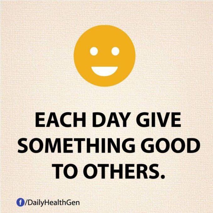 #11 Berikanlah yang baik setiap hari