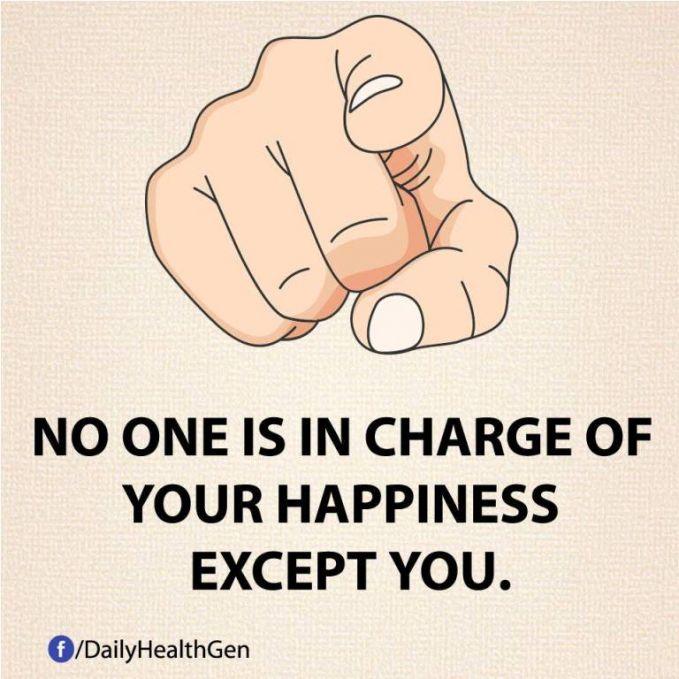 #21 Tidak ada seorang pun yang bertanggung jawab atas kebahagianmu, kecuali dirimu sendiri