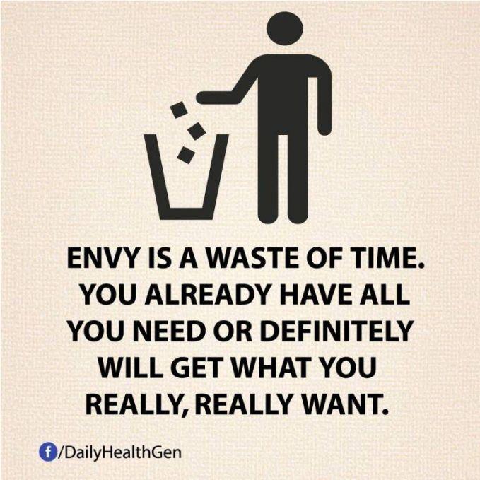 #25 Iri hati itu menyia-nyiakan waktumu. Kamu akan mendapatkan apa yang kamu inginkan.