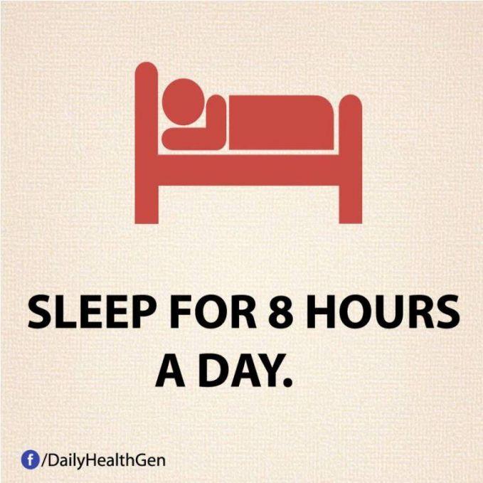 #28 Tidur selama 8 jam sehari