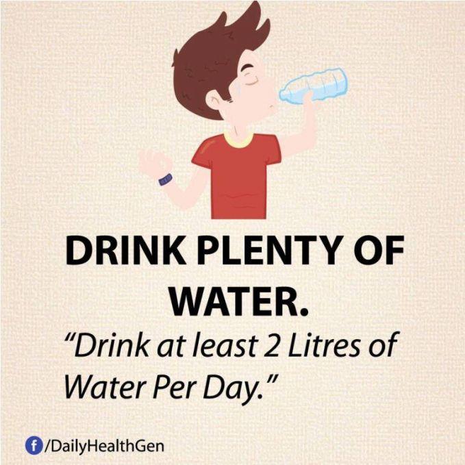 #29 Minumlah air minimal 2 liter per hari