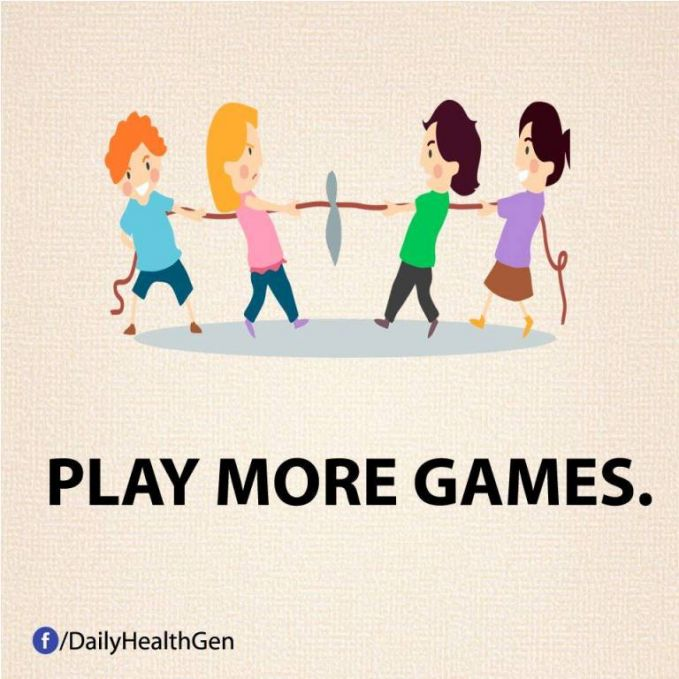 #30 Bermainlah lebih banyak permainan