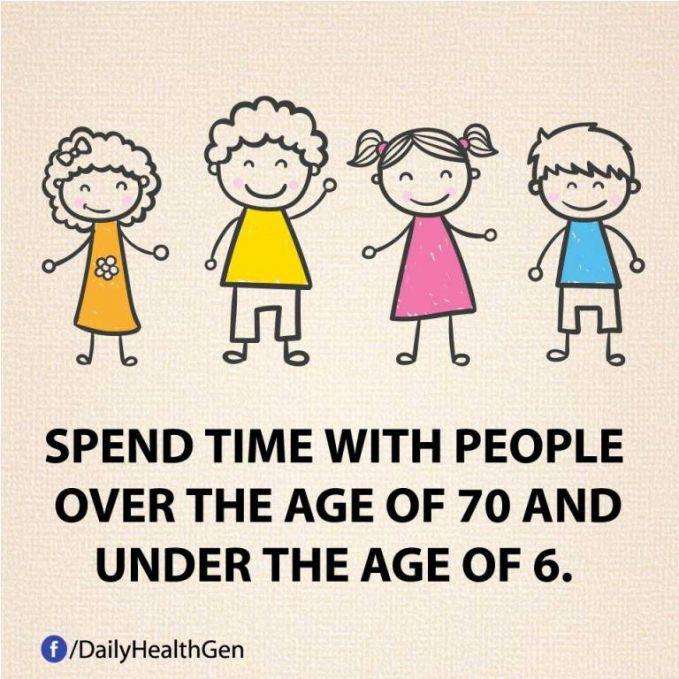#32 Luangkanlah waktu dengan orang yang berumur di atas 70 tahun dan di bawah 6 tahun