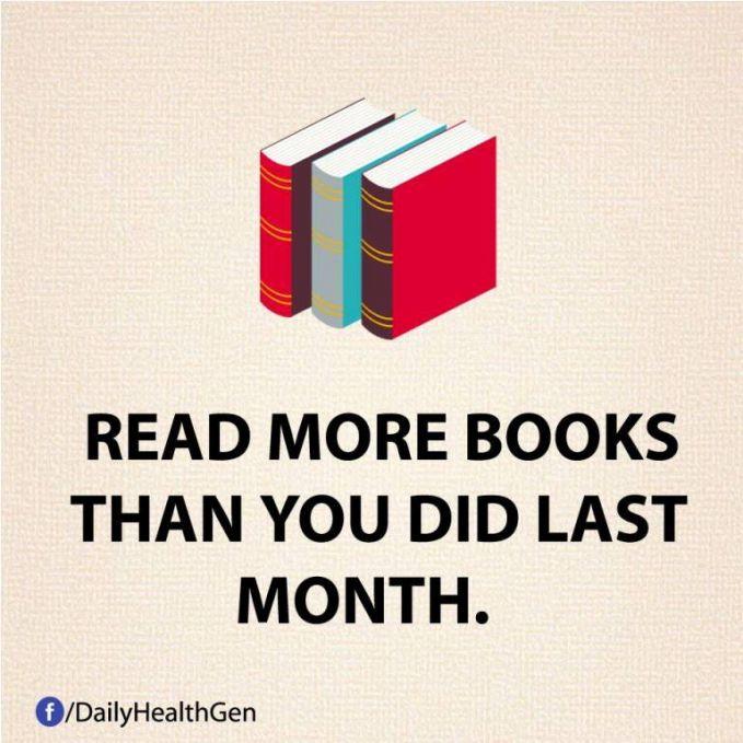 #33 Bacalah lebih banyak buku lebih dari yang kamu baca bulan lalu