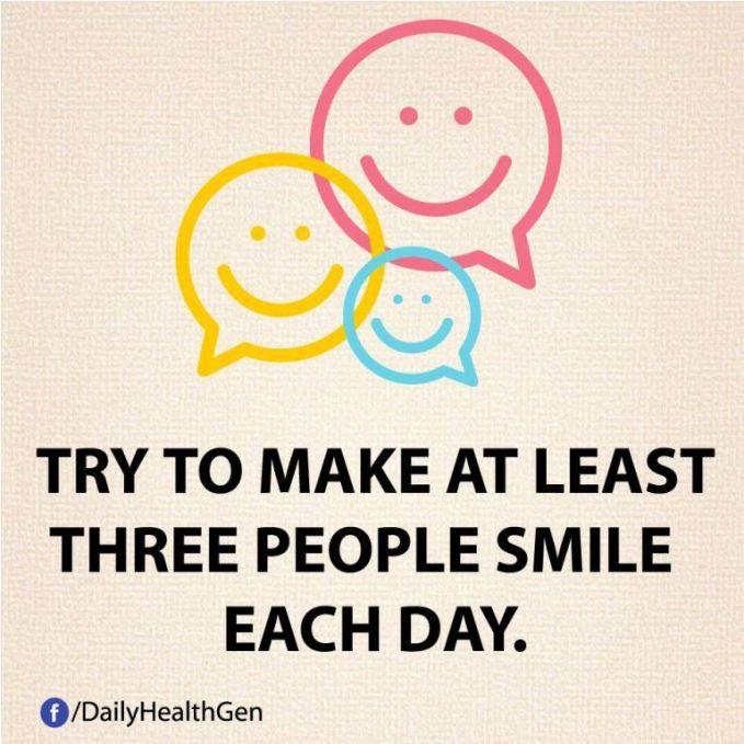 #34 Buatlah minimal 3 orang tersenyum setiap hari karena perbuatannmu