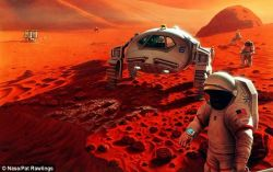 Ilmuwan Berencana Buat Oksigen di Planet Mars