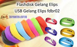 """Jual Flashdisk Gelang Elips """" USB Gelang Elips fdbr02"""