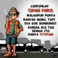 20 Meme Gokil Tukang Parkir yang Kadang Menyebalkan