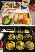 Ini Nih Perbedaan Makanan Kelas Ekonomi dan VIP Dari Setiap Maskapai Penerbangan Dunia
