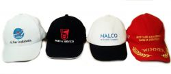 Produksi Topi promosi bahan raphel / rafael