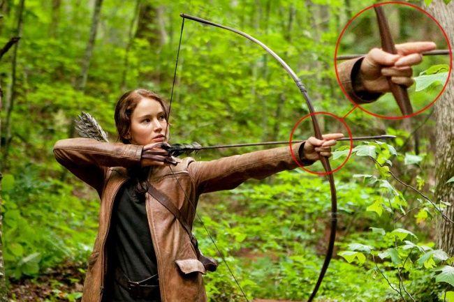 Hunger Games Katniss mungkin melakukan sesuatu yang salah di sini.