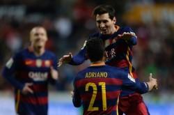 Dua Gol Messi Bantu Barcelona Takhlukan Gijon