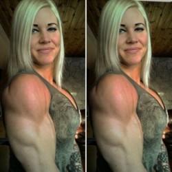 15 Wanita cantik ini punya badan kekar bak atlet binaraga, wow!