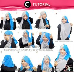 Tutorial memakai Hijab Modern