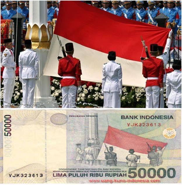 Pasukan Pengibar Bendera (Paskibra) Indonesia.