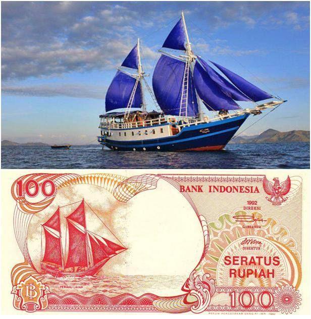 Perahu Pinisi.