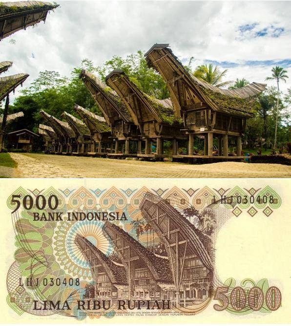Todengen House di Tana Toraja.