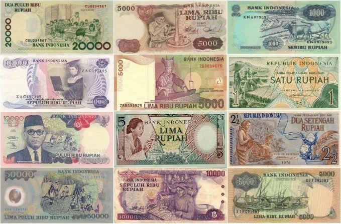 Kalau ini, beberapa kegiatan masyarakat yang dijadikan desain uang kertas.