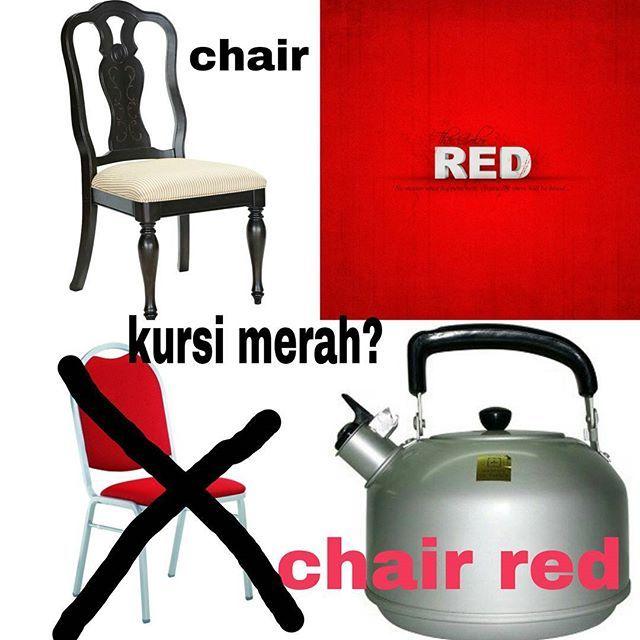 kursi merah buat manasin aer