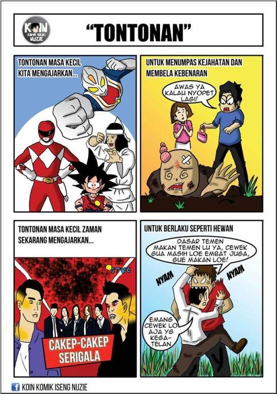 Indonesia Memiliki Kehidupan Yang Unik Hal Itu Disadari Oleh Salah Satu Seniman Komik Indonesia Ia Menuangkan Karydan Menguploadnya Ke Dalam