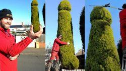 Pria Ini Di Protes Tetangga Karena Membentuk Pohon Di Rumahnya Mirip Organ Vital
