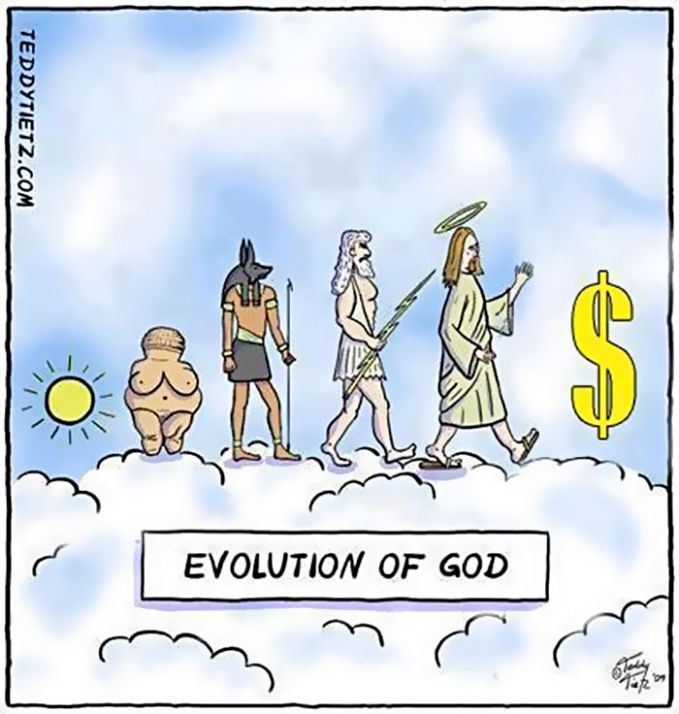 evolusi TUHAN