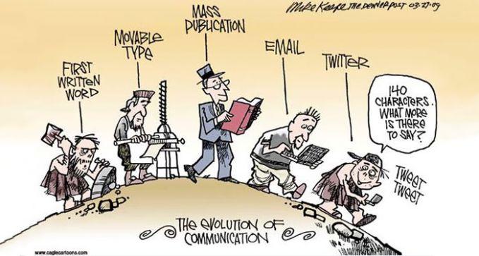 Evolusi dalam berkomunikasi