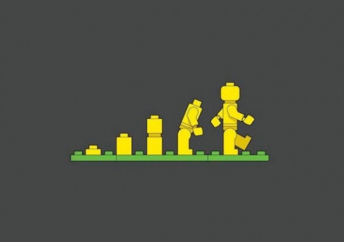 Lego Evolusi
