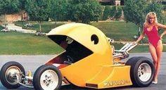 Wtf... Pacman Car :v !!!
