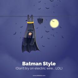 NGAKAK ! Gaya Tidur Ala Superhero, Kamu yang Mana ?