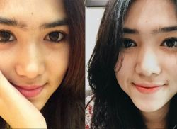 Wajah Isyana Sarasvati Tanpa Make Up