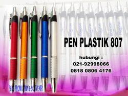 Jual Pulpen Seminar 807 - pen Promosi Plastik 807