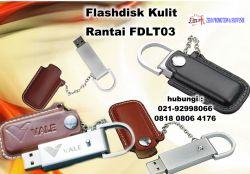 Jual Usb Kulit Promosi - Flashdisk Kulit Rantai FDLT03