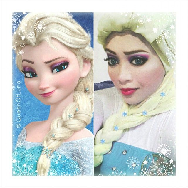 #14 Putri Elsa di Frozen Putri cantik dari kerajaan Arendele ini memiliki kekuatan ajaib dari tangannya. Ia memiliki sihir es yang dapat keluar dari tangannya. Ia memiliki adik yang disayanginya yang bernama Anna. Mereka memiliki kehidupan yang akhirnya menghangatkan kerajaan dan negerinya. Bagaimanakah dengan Saraswati? Apakah sudah mirip dengan Putri Elsa?