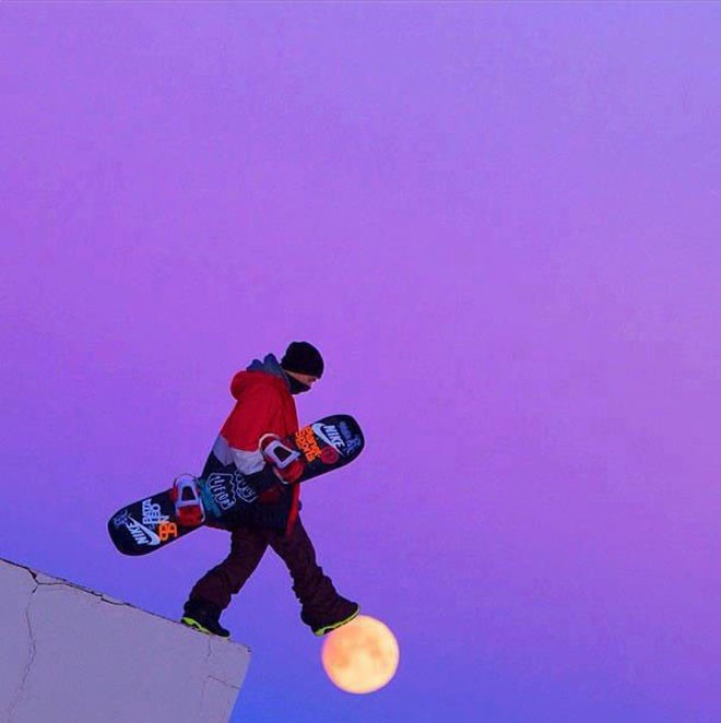Seperti memijakkan kaki pada bulan.