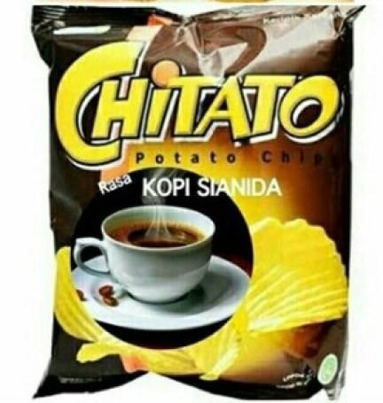 Yang lagi ngetren, chitato rasa kopi sianida