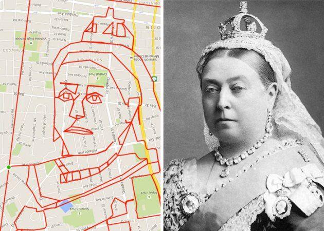 #3 Ratu Elizabeth Ratu dari Kerajaan Inggris yang pernah menguasai sebagian besar dunia ini juga menjadi inspirasinya dalam membentuk gambar yang hampir mirip dengan foto Ratu Elizabeth