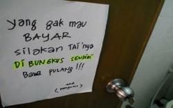 [10 gambar] Peraturan Aneh WC Umum Paling Konyol ! [PART 1]