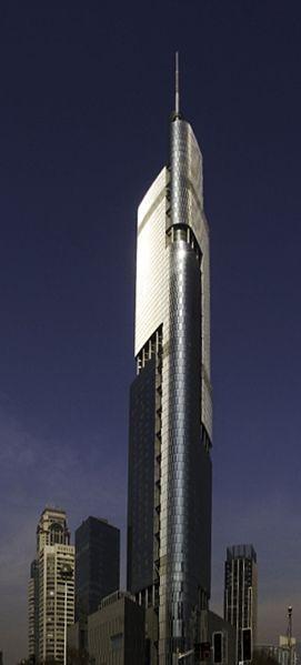 7. Zifeng Tower Lokasi : Nanjing, China Tinggi : 450 m Selesai dibangun tahun : 2009 Dibuka tahun :2009 Jumlah lantai : 89 Zifeng Tower alias Greenland Pusat-Zifeng Tower atau Menara Greenland Persegi Zifeng, terdiri dari ruang ritel dan kantor di bagian bawah, dan restoran, hotel, dan sebuah observatorium publik dekat bagian atas.