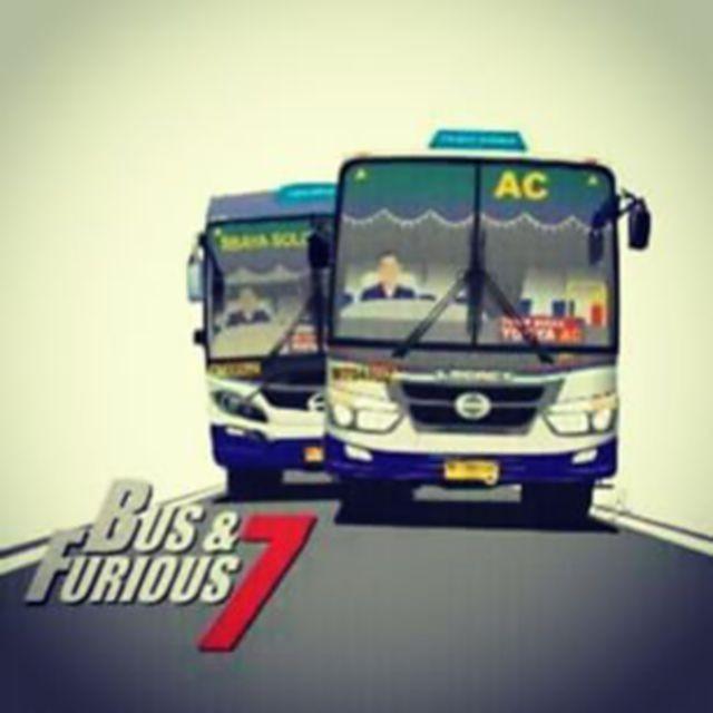 #3 BUS & FURIOUS 7 Hahaha gokil ini pembuat memenya. Sensasi naik bus di Indonesia memang akan terasa seperti yang ada di film dibintangi Vin Diesel ya!