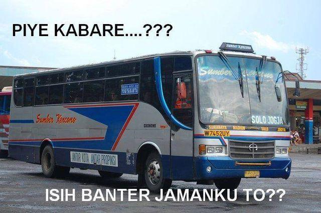 #10 LEGENDARIS Bus ini memang sudah tidak beroperasi lagi atau lebih tepatnya sudah berganti nama. Ada salam dari bus legendaris ini : Bagaimana kabarnya? Masih cepat jamanku kan?