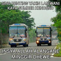[15 GAMBAR] Meme Lucu DEG-DEGAN Saat Naik BUS di INDONESIA!!!